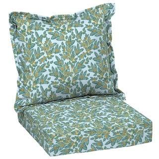Arden + Artisans Eugene Leaf Deep Seat Set - 47 in L x 23 in W x 8 in H