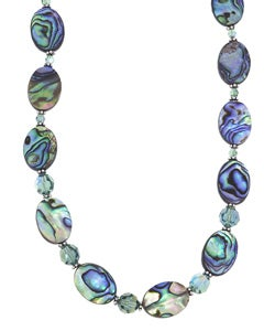 Charming Life Rainbow Paua Shell Necklace