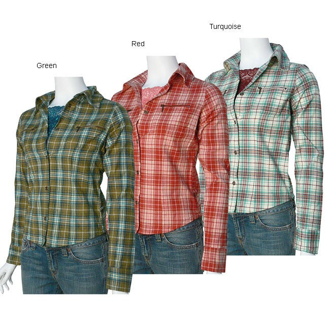 Oliver & James 52 Weekend Juniors Flannel and Camisole Set at Sears.com