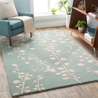 Anneliese Handmade Floral Wool Area Rug
