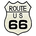 Route 66 Collectible Wool Rug (4' x 5')