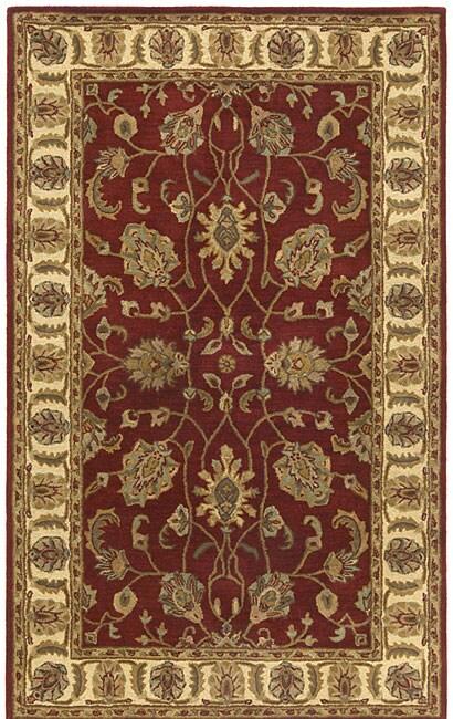 Handmade Elite Traditional Agra Wool Rug (4' x 6')