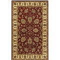 Handmade Elite Traditional Agra Wool Rug (4' x 6')