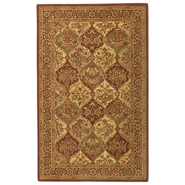 Handmade Elite Traditional Wool Rug (5' x 8')