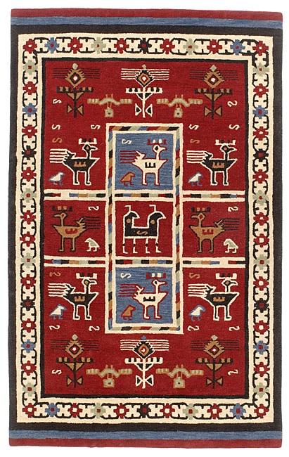 Elite Tribal Handmade Wool Rug (8' x 11')