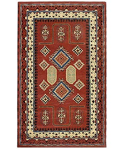 Handmade Elite Traditional Wool Rug (8' x 11')