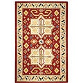 Elite Traditional Handmade Wool Rug (8' x 11')