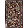 Handmade Elite Floral Traditional Wool Rug (8' x 11')