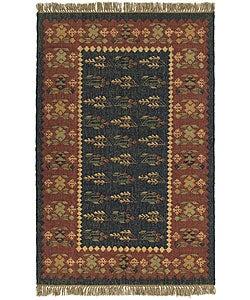 Handmade Elite Flat Weave Rug (8' x 10')