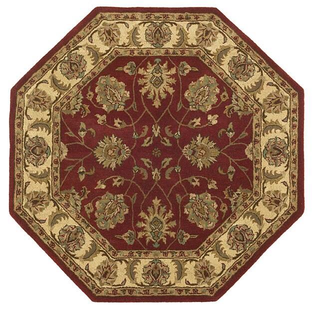Handmade Elite Traditional Wool Rug (6' Octagon)