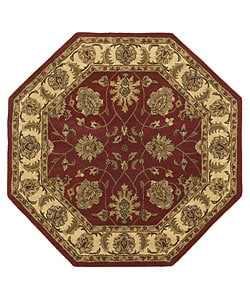 Handmade Elite Traditional Wool Rug (6' Octagon)