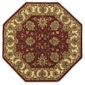 Handmade Elite Traditional Wool Rug (8' Octagon)