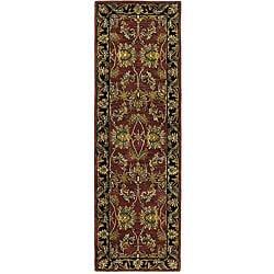 Handmade Elite Traditional Wool Runner Rug (2'6 x 8')