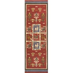 Elite Tribal Handmade Wool Rug Runner (2'6 x 8')
