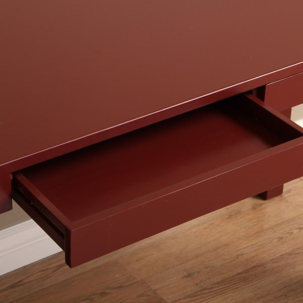 Student Desk Cherry Red