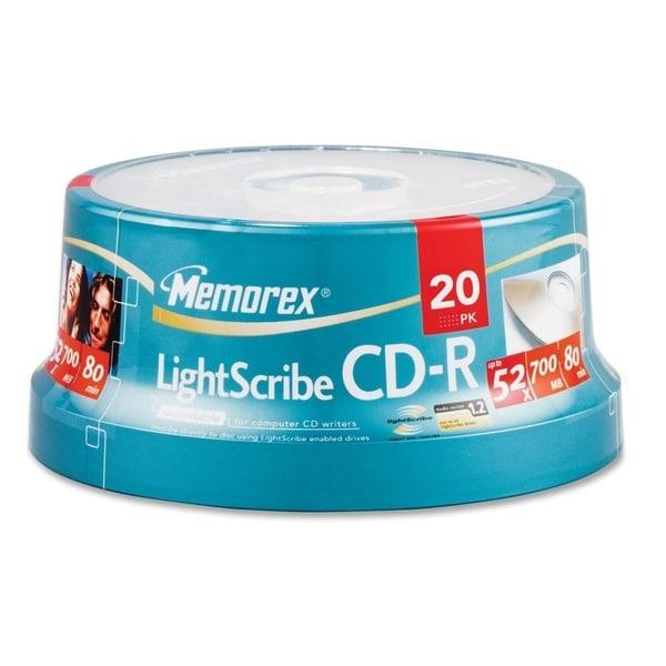 Memorex CD Recordable Media - CD-R - 52x - 700 MB - 20 Pack