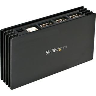 StarTech.com 7 Port Compact Black USB 2.0 Hub