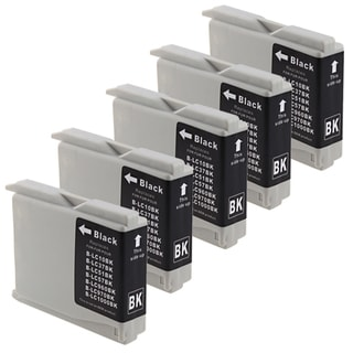 Brother Compatible LC-51 Black Ink Cartridges (5 Pack)