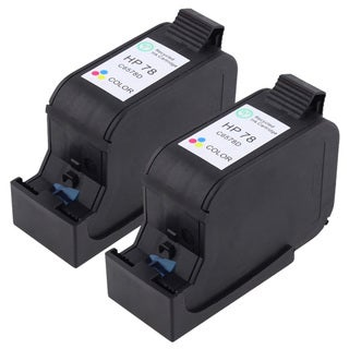 HP 78 Remanufactured Tri-color Ink (Set of 2)