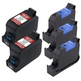 HP 45 / 23 Deluxe Ink Cartridge (Pack of 5) (Refurbished)