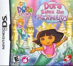 Nintendo DS - Dora the Explorer: Dora Saves the Mermaids
