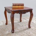 International Caravan Square Wood End Table