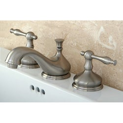 Heritage Satin Nickel Widespread Faucet