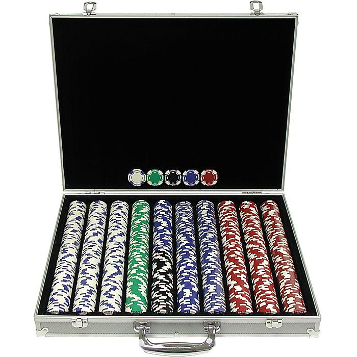 poker chip sets 1000 pieces