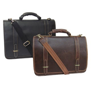 Amerileather Traditional Double Slip-in Executive Briefcase