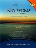 Hebrew-Greek Key Word Study Bible: New American Standard Bible, Genuine Burgund, Wider Margin (Paperback)