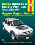 Dodge Durango & Dakota Pick-ups Automotive Repair Manual: Dodge Durango Models (2000 Thru 2003) / Dodge Dakota Mo... (Paperback)