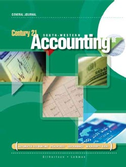 Century 21 South-Western Accounting, General Journal (Hardcover)