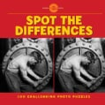 Spot the Differences: 100 Challenging Photo Puzzles (Paperback)