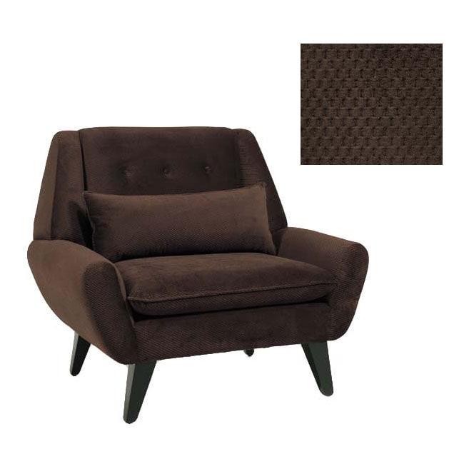 JAR Designs Orbit Chocolate Accent Chair