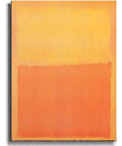 Orange and Yellow by Mark Rothko Stretched Canvas