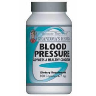 Grandma's Herbs Blood Pressure Supplement (100 Capsules)