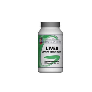 Grandma's Herbs Liver Cleansing & Strengthening Supplement (100 Capsules)