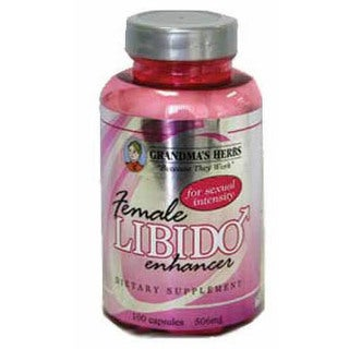 Grandma's Herbs Female Libido Enhancer 506mg Supplement (100 Capsules)