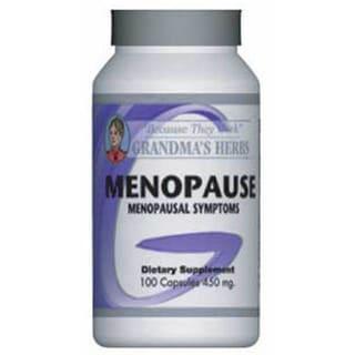 Grandma's Herbs 450 mg Menopause Supplement (100 Capsules)