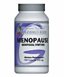 Grandma's Herbs 450 mg Menopause Supplement (100 Capsules)