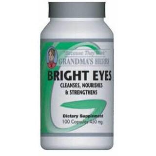 Grandma's Herbs Bright Eyes Supplement (100 Capsules)