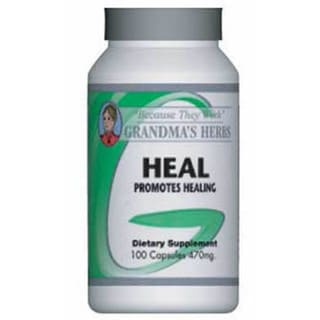 Grandma's Herbs 'Heal' 470mg Supplement (100 Capsules)