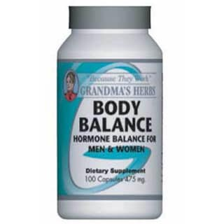 Grandma's Herbs Body Balance Supplement (100 Capsules) 3192236