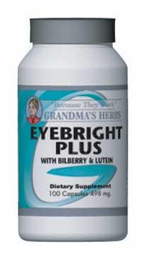 Grandma's Herbs Eyebright Plus (100 Capsules)