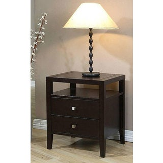 Aristo 2-drawer Nightstand