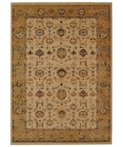 Safavieh Handmade Oushak Ivory/ Gold New Zealand Wool Rug (8' x 11' 2)