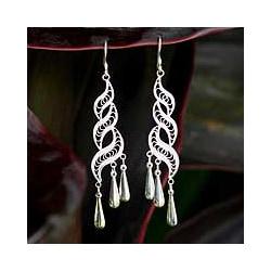 Earrings 'Sterling Allure' (Thailand)