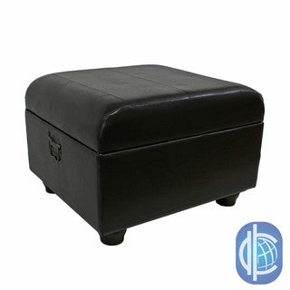International Caravan Square Ottoman Trunk with Lid