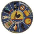 Safavieh Hand-hooked Vintage Poster Blue Wool Rug (8' Round)