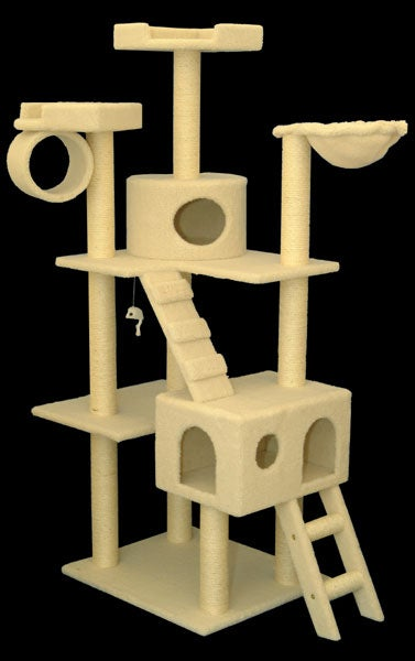 Majestic Pet 73-inch Bungalow Cat Furniture Tree Condo at Sears.com